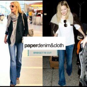 Paper Denim & Cloth Bridgette Low rise Boot Jean.